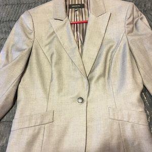 Jones NY suit jacket in shimmering gray
